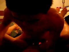 Insatiable Vietnamesisch Liebhaber schwelgen in wilden Sex Aktion für