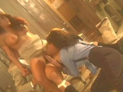 Jenaveve Jolie in FFM threesome