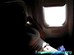 Aeroplano donna masturbazione - youtubepussy