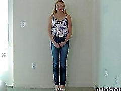 Blonde Teen Creampied At Calendar Audition