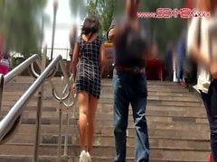 Paula Ramos . A pornosu sahnesi Del bir metro a una Escena Porno göre metrodan !