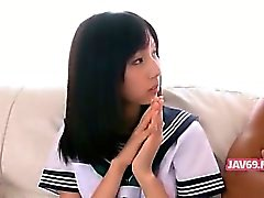 Adorable Geiler koreanischer Mädchen Banging