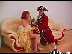 Einlieger trifft schließlich ihre schönen Prinzen