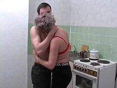 Couple russe doggystyle
