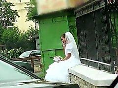 Sexy horny bride Amirah wants to fuck