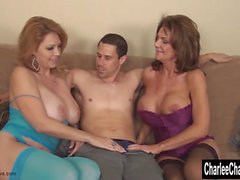 Charlee Chase and Deauxma Share A Hard Cock