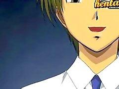 Jugendlich Hentai Küken gefickt