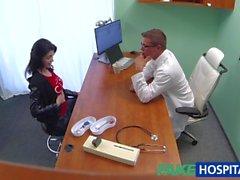 FakeHospital Seksi Rus Hasta reçete edilmesi büyük bir sabit horoz ihtiyacı