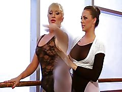Lésbicas bailarinos