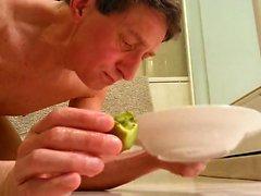 Ät Kiwi och banan varmt slut min häck