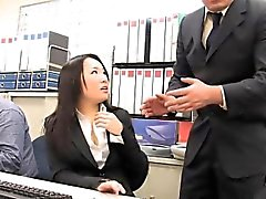 Miss Ai Mizushima is always ready to please her nasty