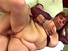 Vacker kvinna Granny mus inbillning möte med big cock