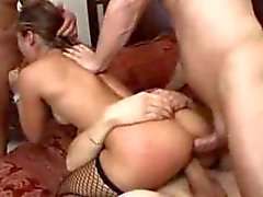 Roxy Jezel en doble penetración