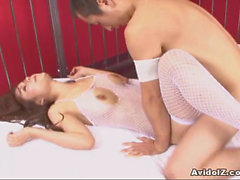 Sexy Megu Ayase fucked from behind!