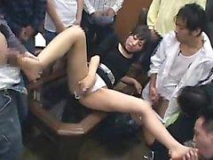 Asya oral seks ve oynuyor