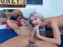 Sexy CamShow deepthroat casal quente