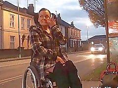 Для Инвалидов Ли Каприс мигающий киску в общественных