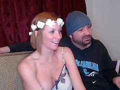 Supersized Boobs Naughty Blonde hat doppelte Penetration