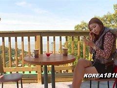 Ragazza Coreana Sexy e Leggy