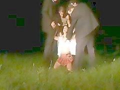 Melissa Lauren Gangbang à noite