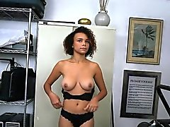 Hot And Horny Chick Raven Blows Black Workmate