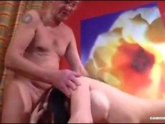 Экстрем versaut - Deutsches Подростка VOM Фатера Бейма Masturbieren