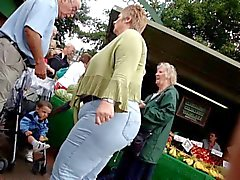 Big Ass Großmutter Jeans
