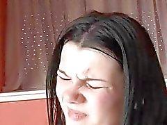 Busty amateur vriendin anale actie met klaarkomen