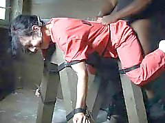 Female Prisoners Restrained and Punished!