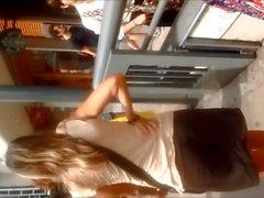 Upskirt Аргентина - ИФОМ Falda Каштан