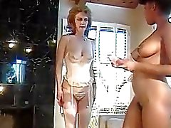 Classic Mature Lesbian Sex Party