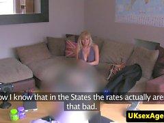 Busty casting americano nena cumsprayed en vag