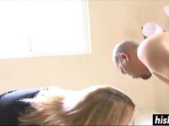 Savannah Tyler genießt hart Boner ihres Mannes