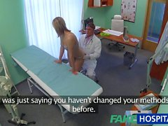 FakeHospital Stunning Sarı siki düzenlemektir doktorunuza istediği