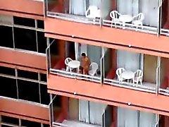 balcone del hotel uno