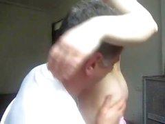 Big ass Iranian woman fucks wildly with a mature man
