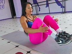 Evet!!! Fitness sıcak ASS sıcak CAMELTOE 80