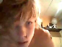 Jungen Blonden Thaus Wanker