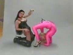 Гибкий лесбиянка фетиш
