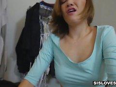 SisLovesMe Kinky Step-Sis Quer Tentar Bondage