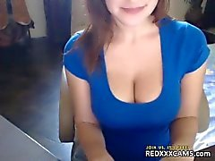 Camgirl di webcam esposizione 355