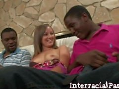 Girl Next Door Jordan love 2 BIG BLACK MONSTER DICKS!