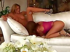 Hot lesbian pussy party