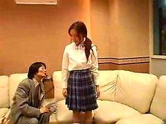 Häikäise japanilaisten teini sexy pitkät sääret ei hauskaa t