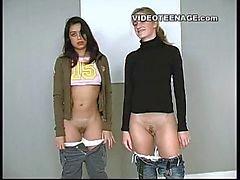 lésbicas adolescentes fundição primeiro vídeo