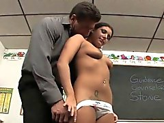 Sweet Tiffany Seduces Her Stud Teacher With Her Teen Tits