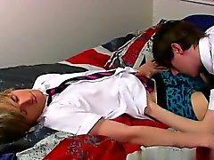 Vídeo Jovencitos Sin a Ethan Caballero y el Brent de Daley dos de taco de una locura