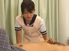 Asian Amateur Schlampe fickt Blasen und Handjob