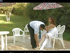 Just after wedding a tranny bride