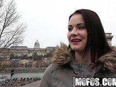 Mofos - Julkinen Pick Ups - Euro Babe kanssa Perk